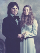 Marty & Karen, Branham High School Senior Ball 1974
