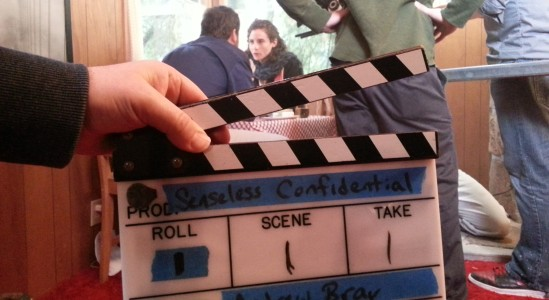 On the set of Senseless Confidential